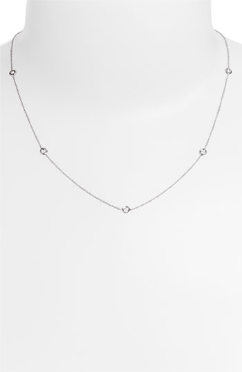 Roberto Coin Diamond Seven Station Necklace