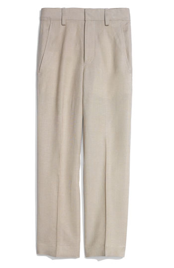 Nordstrom Linen Blend Dress Pants Toddler Little Boys & Big Boys