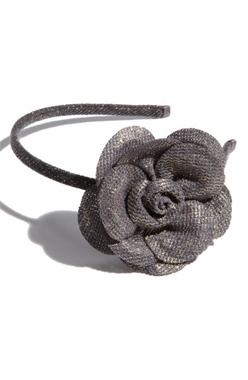 Cara Accessories 'Chic and Modern' Flower Headband