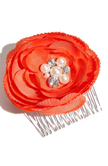 Tasha Flower Hair Comb