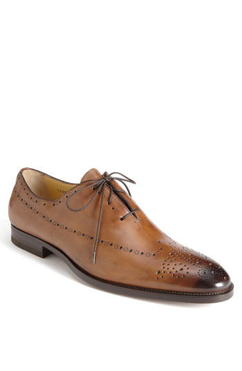 Santoni 'Rayburn' Lace-Up Oxford