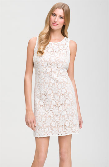 JS Collections Sleeveless Lace Dress