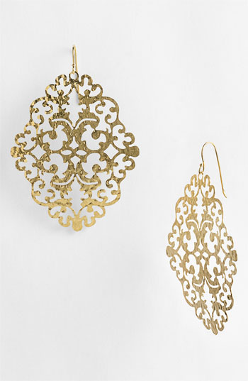 Argento Vivo 'Artisanal Lace' Diamond Shape Earrings Nordstrom Exclusive