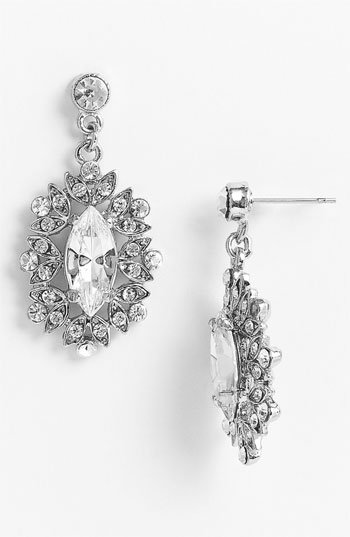 Nina 'Celia' Marquise Drop Earrings