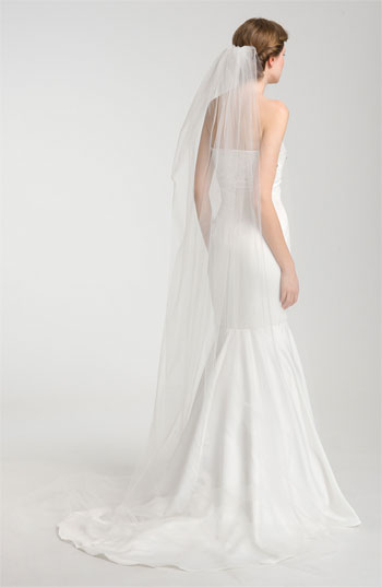Nina Demi Single Tier Cathedral Veil