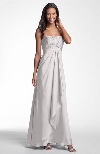 ML Monique Lhuillier Bridesmaids Strapless Gown Nordstrom Exclusive