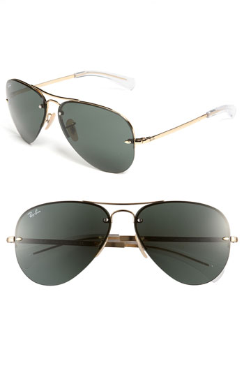 Ray-Ban 'Aviator' 59mm Sunglasses