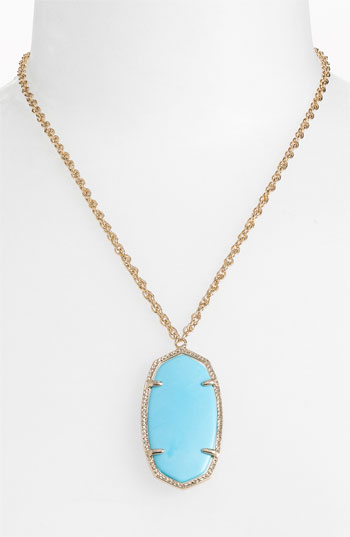 Kendra Scott 'Danielle' Oval Pendant Necklace