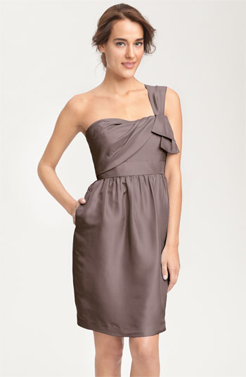 Jenny Yoo Collection Convertible Shantung Dress
