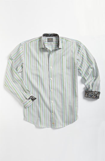 Thomas Dean Modern Dress Shirt Big Boys