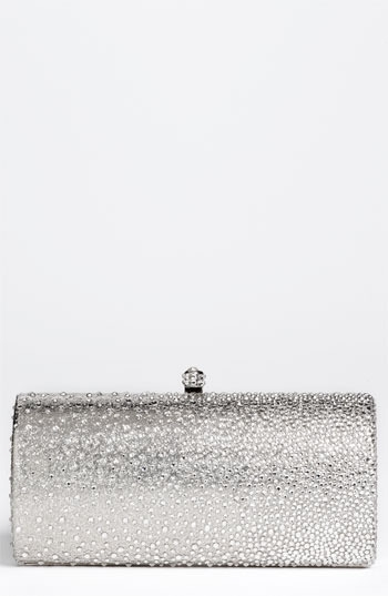 Natasha Couture Rhinestone Degrade Clutch