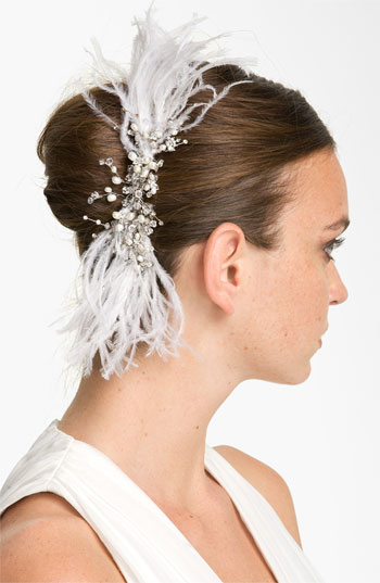 Tasha 'Enchanting Feather' Hair Comb