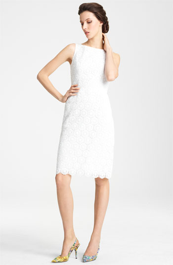 Dolce&Gabbana Boatneck Lace Dress