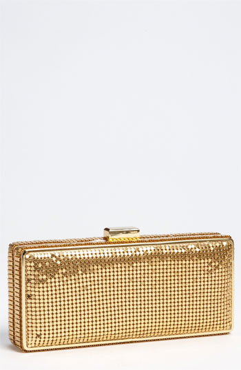 Whiting & Davis Mesh Box Clutch