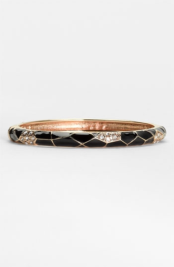 Sequin Small Insect Wing Enamel Bangle