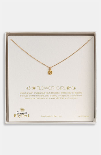 Dogeared 'Flower Girl' Pendant Necklace Nordstrom Exclusive