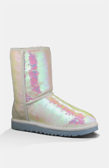 UGG Australia 'Classic Short Sparkles - I Do' Boot Women