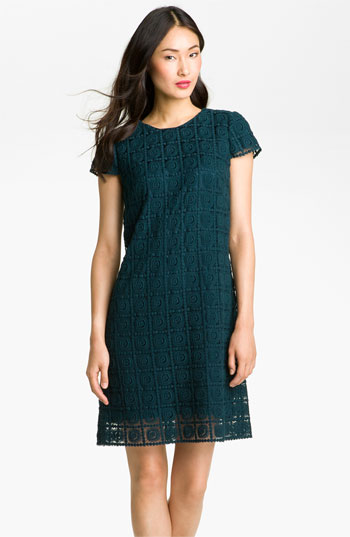 Suzi Chin for Maggy Boutique Crochet Shift Dress