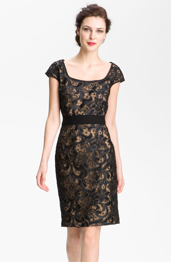 T by Tadashi Lace Sheath Dress