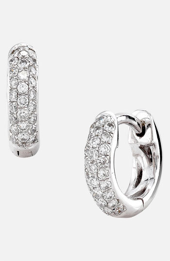 Bony Levy 3-Row Pave Diamond Hoop Earrings Nordstrom Exclusive