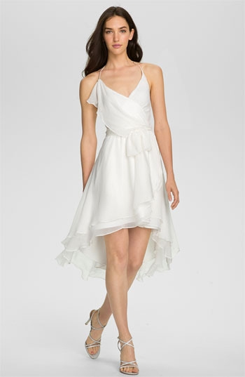 Alexia Admor Draped Chiffon Halter Dress