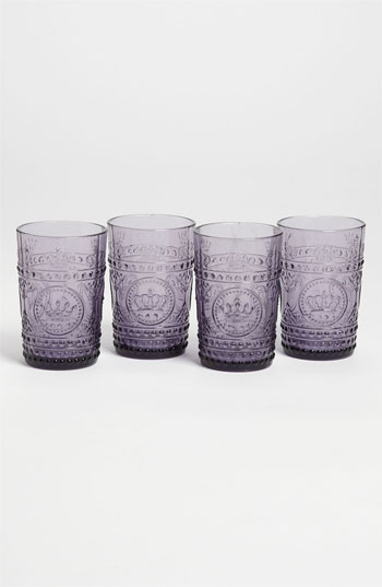 Kiss That Frog High Ball Glasses (Set of 4)