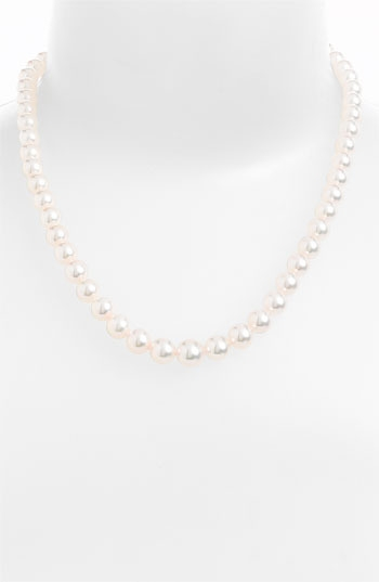 Mikimoto Graduated Akoya Cultured Pearl Necklace