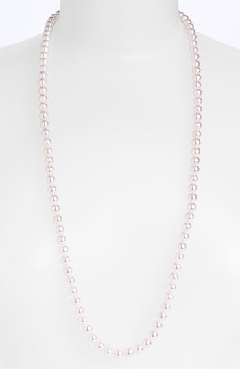 Mikimoto Cultured Pearl Long Necklace