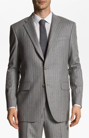 Robert Talbott Stripe Wool Suit