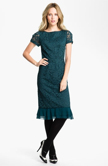 Tory Burch 'Bovary' Lace Sheath Dress
