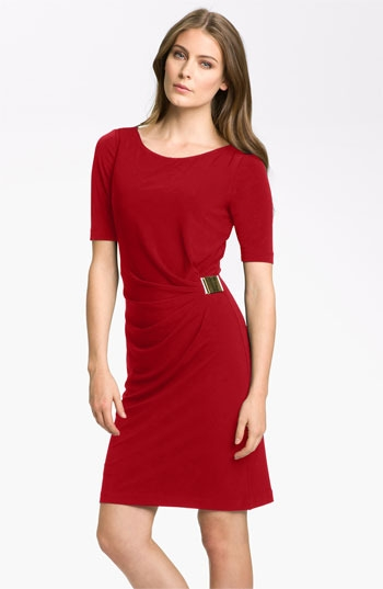 Tahari by Arthur S. Levine 'Kevin' Jersey Sheath Dress