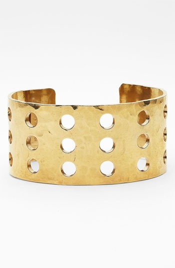 Kelly Wearstler Cabochon Perforated Cuff
