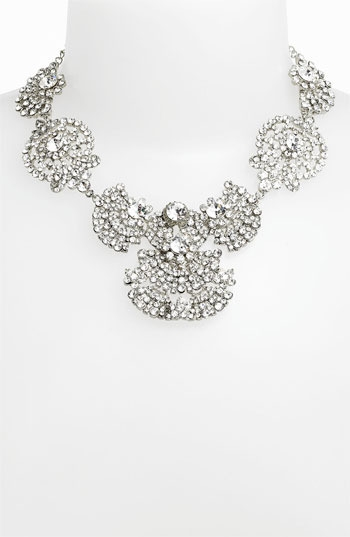Nina 'Acacia' Crystal Frontal Necklace