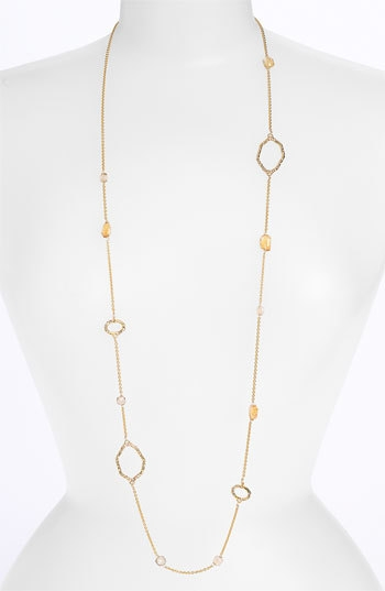 Alexis Bittar 'Delano' Long Station Necklace (Nordstrom Exclusive)