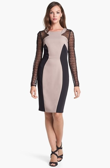 ALICE by Temperley 'Mikiro' Colorblock Sheath