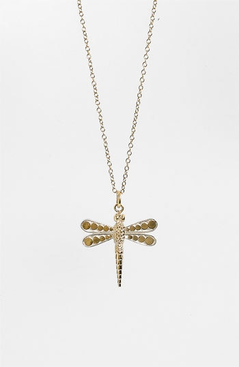 Anna Beck 'Animals' Long Dragonfly Pendant Necklace