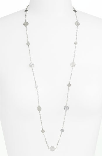 Anna Beck 'Bali' Long Strand Disc Necklace
