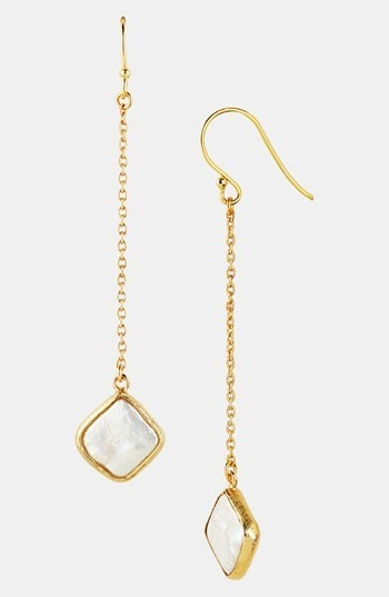 Argento Vivo Baroque Pearl Drop Earrings