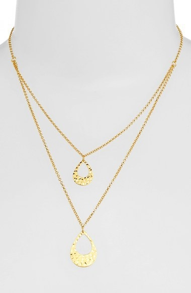 Argento Vivo Double Pendant Necklace