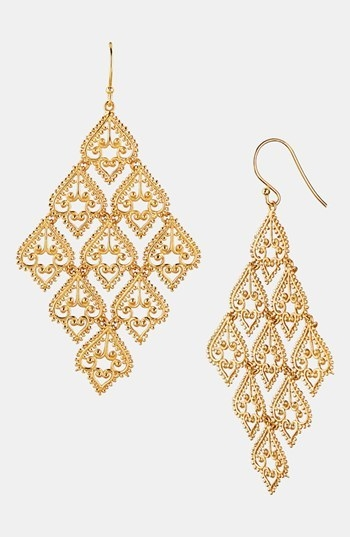 Argento Vivo Large Chandelier Earrings