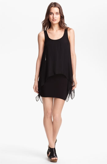 B44 Dressed by Bailey 44 'Manta Ray' Chiffon Tank Minidress