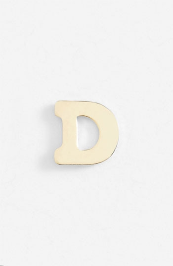 Bonnie Jonas Single Initial Earring