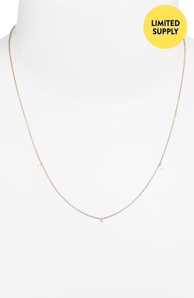 Bony Levy 3-Diamond Necklace (Nordstrom Exclusive)