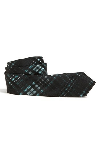 C2 by Calibrate Plaid Silk Tie