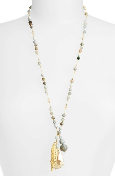 Chan Luu Long Cluster Pendant Necklace