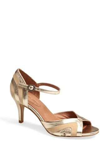 Corso Como 'Jesuit' Peep Toe Leather Pump