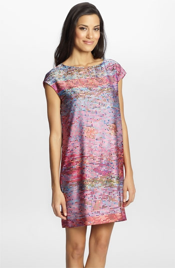 Cynthia Steffe 'Gina' Print Shift Dress