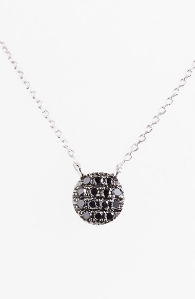 Dana Rebecca Designs 'Lauren Joy' Black Diamond Pendant Necklace