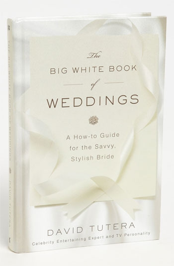 David Tutera 'The Big White Book of Weddings' Wedding Guide