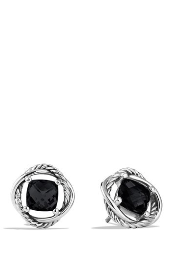 David Yurman 'Infinity' Earrings with Semiprecious Stone